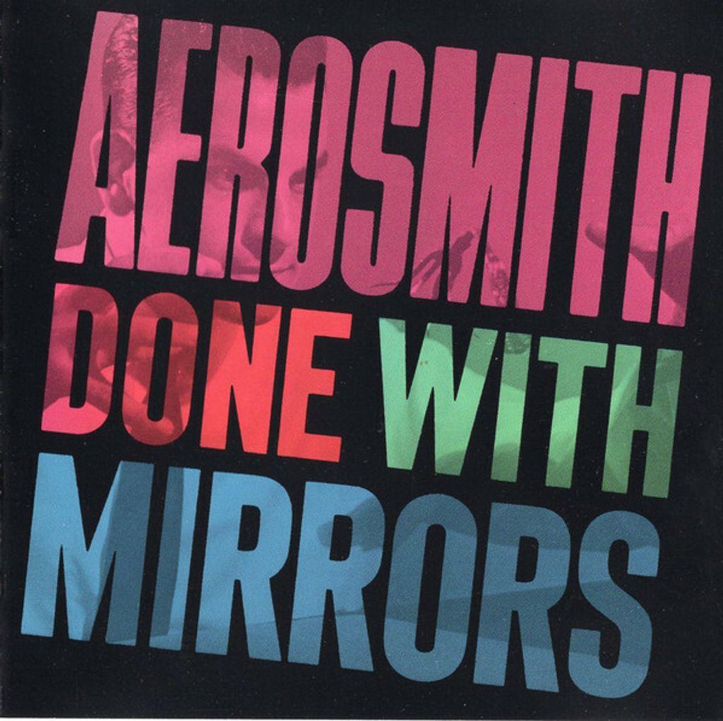 (Used) AEROSMITH Done With Mirrors CD.jpg