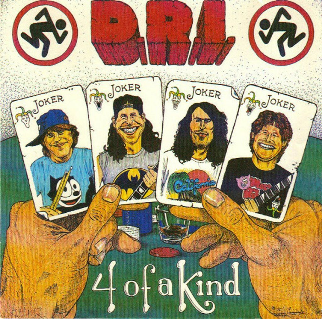 (Used) D.R.I. 4 Of A Kind CD.jpg