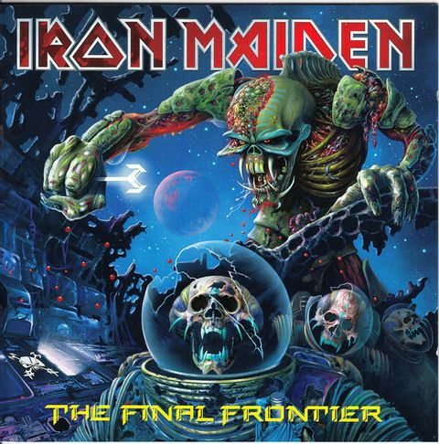 (Used) IRON MAIDEN The Final Frontier CD.jpg