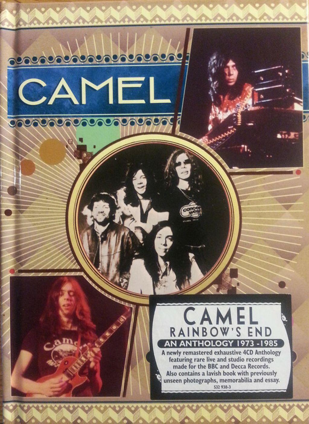 (Used) CAMEL Rainbow's End - An Anthology 1973-1985 4CD.jpg