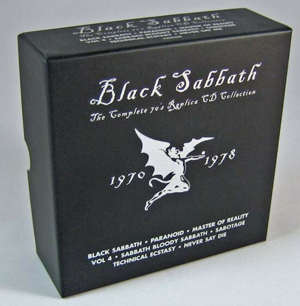(Used) BLACK SABBATH The Complete 70's Replica CD Collection CD.jpg