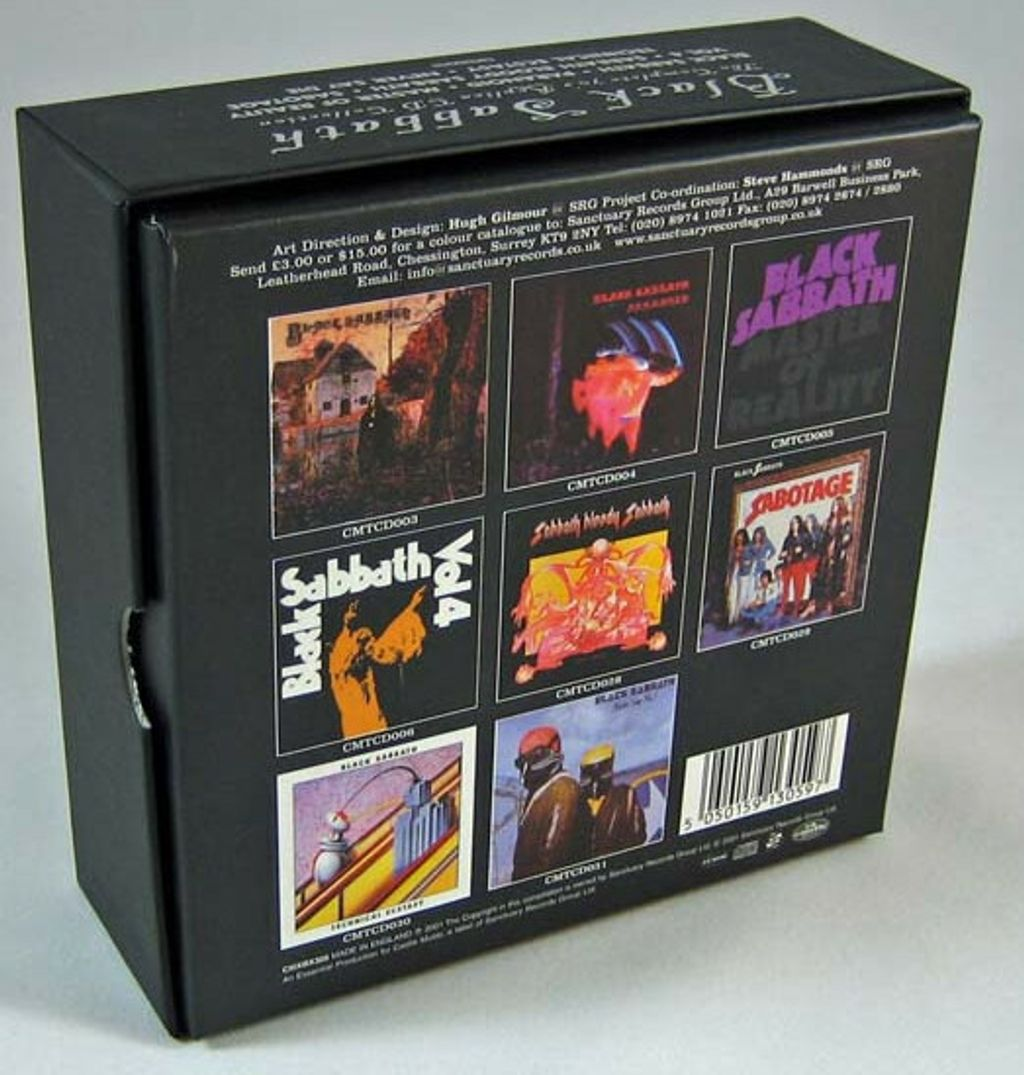 (Used) BLACK SABBATH The Complete 70's Replica CD Collection CD BACK.jpg