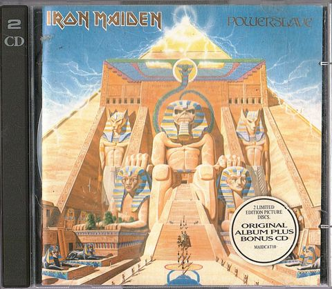 (Used) IRON MAIDEN Powerslave (Limited Edition) 2CD.jpg