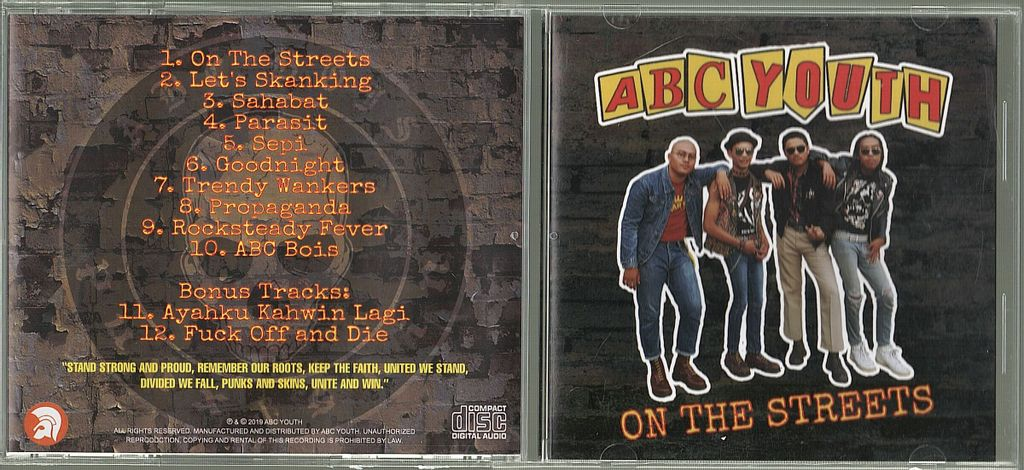 (Used) ABC YOUTH On The Streets CD.jpg