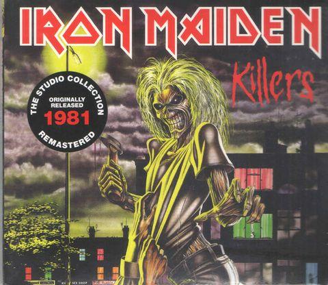 IRON MAIDEN Killers (The Studio Collection Remastered digipak) CD.jpg