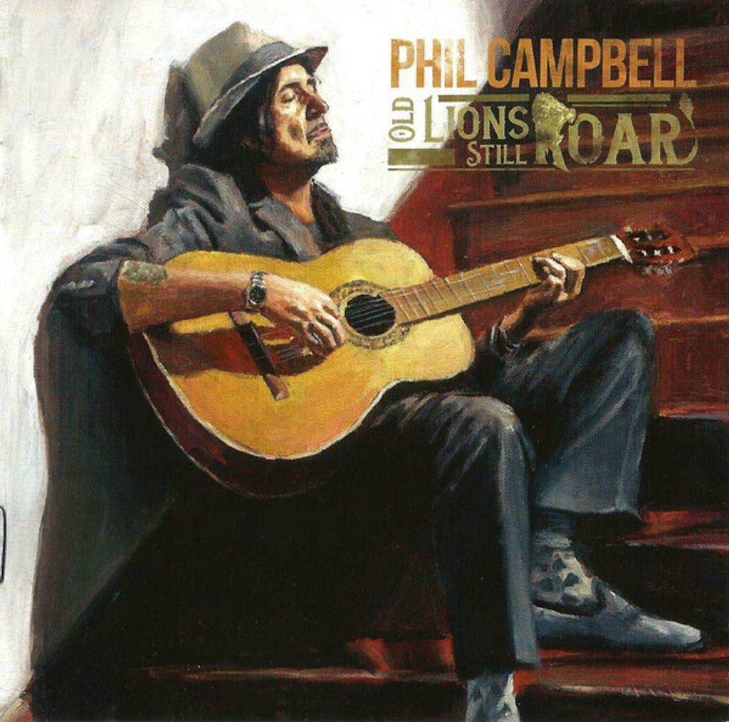 PHIL CAMPBELL Old Lions Still Roar CD (MOTORHEAD)2.jpg