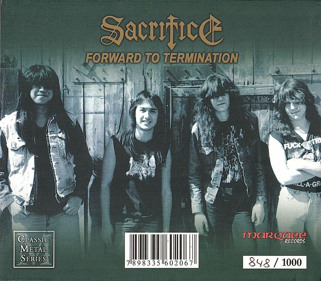 (Used) SACRIFICE Forward To Termination (Slipcase) 2CD back.jpg