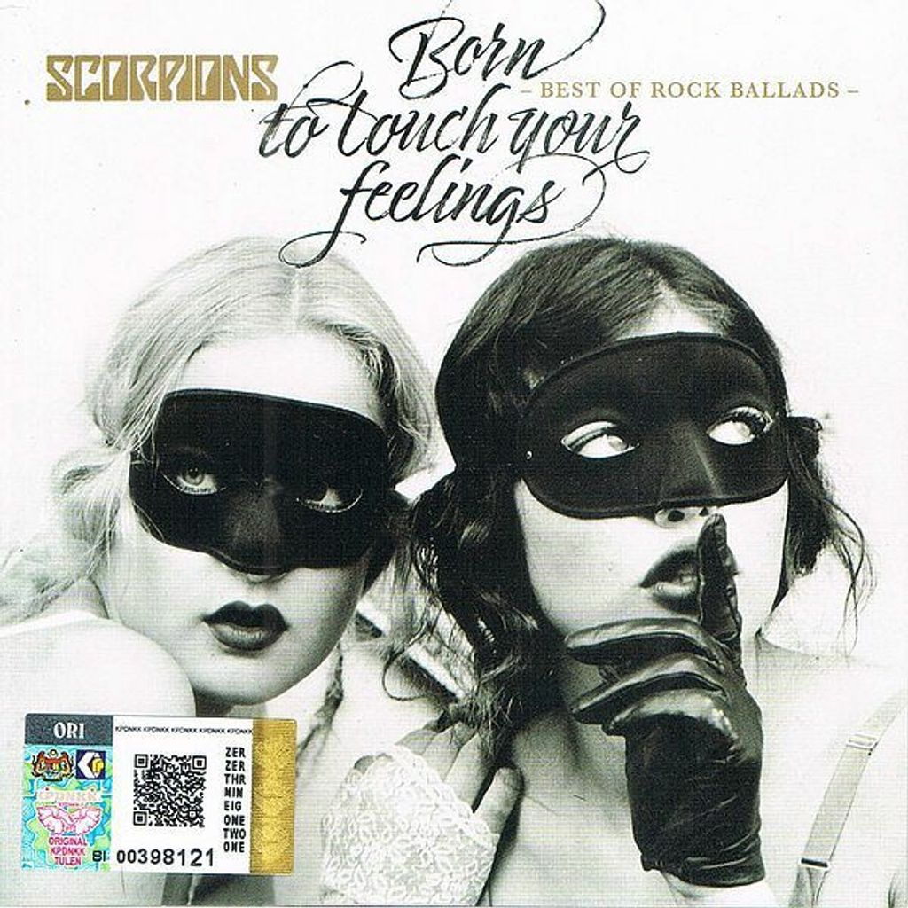 (Used) SCORPIONS Born To Touch Your Feelings - Best Of Rock Ballads CD.jpg