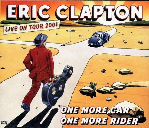 (Used) ERIC CLAPTON One More Car, One More Rider 2CD + DVD.jpg
