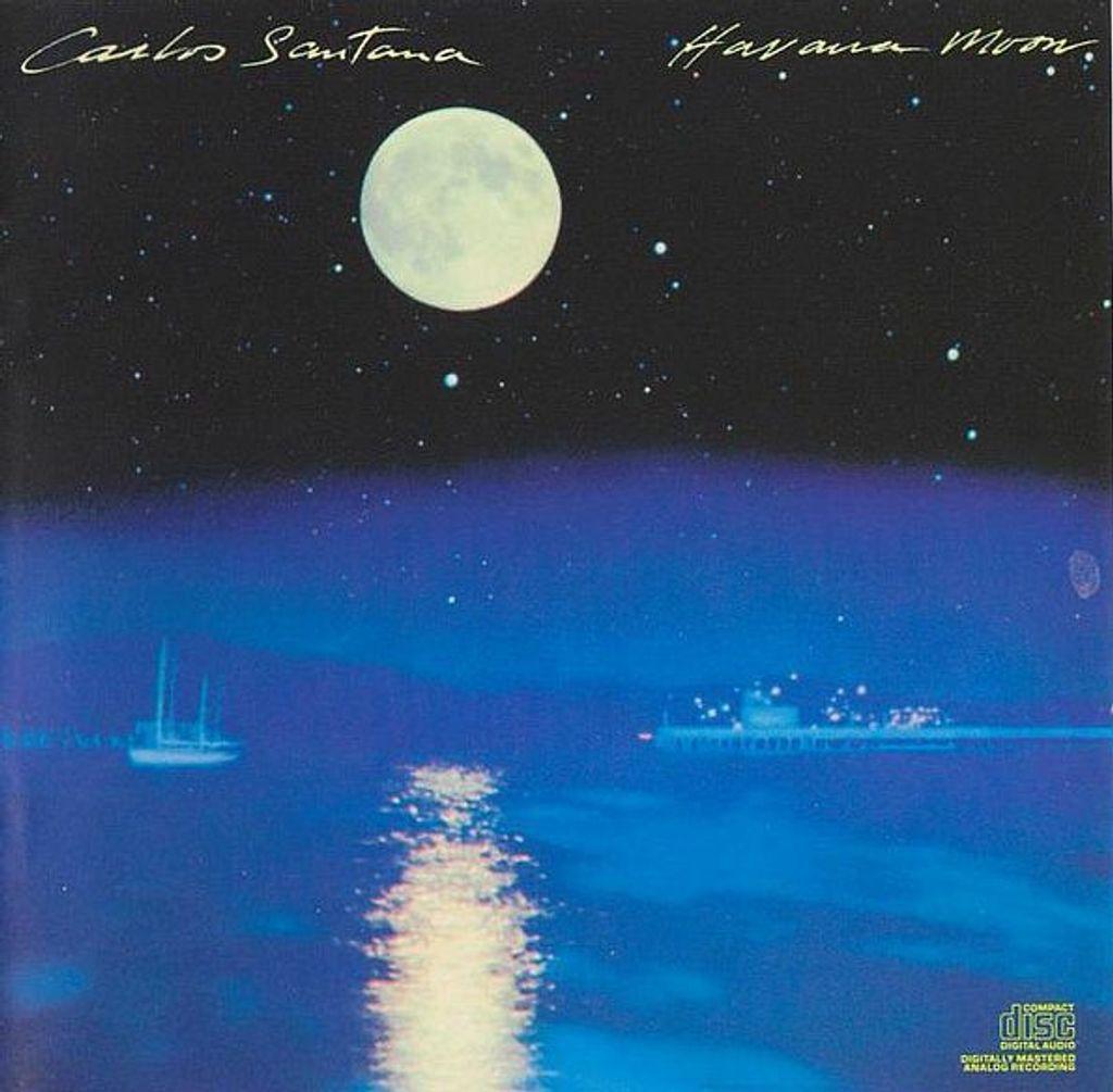 (Used) CARLOS SANTANA Havana Moon CD.jpg