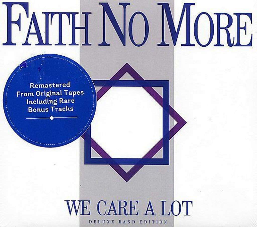 FAITH NO MORE We Care A Lot (Deluxe Edition, Remastered, Digipak) CD.jpg