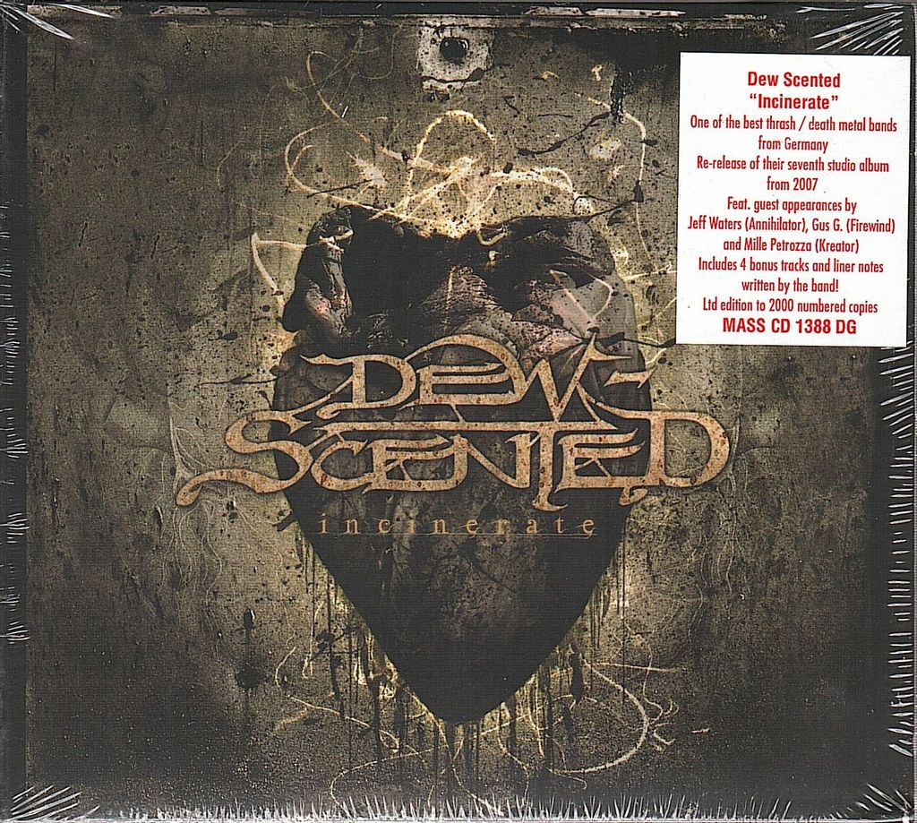 DEW-SCENTED Incinerate (Limited Edition, Remastered Digipak) CD.jpg