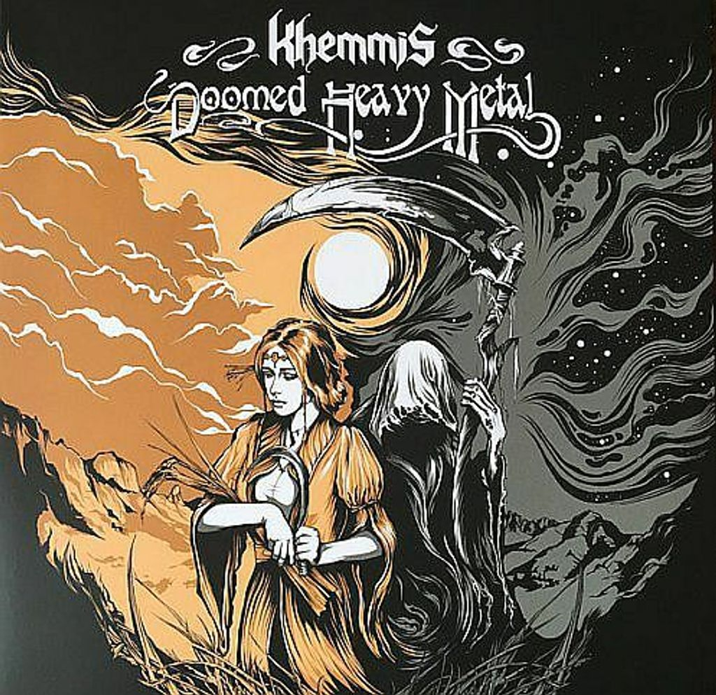 KHEMMIS Doomed Heavy Metal (Digipak) CD.jpg