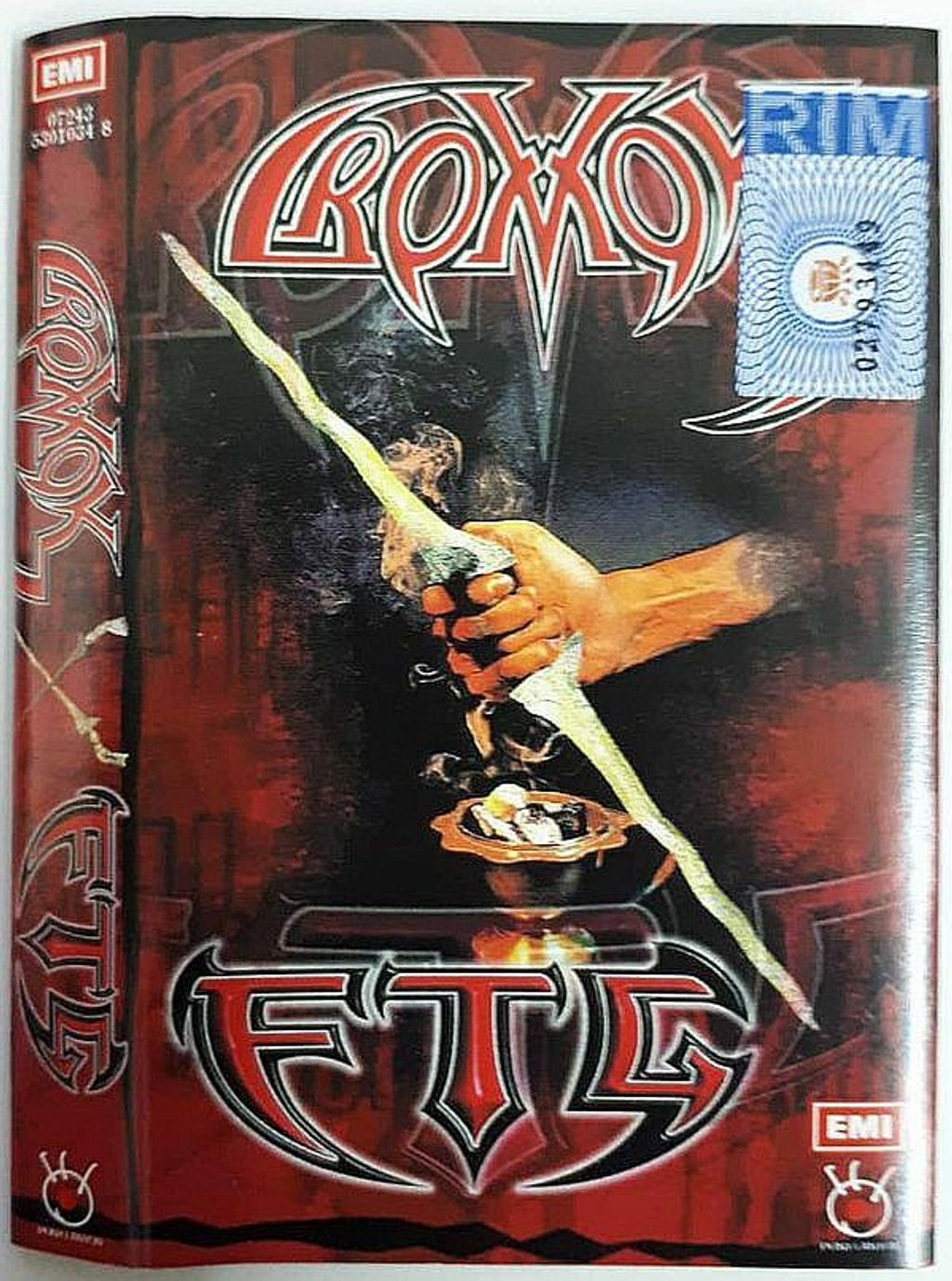 (Used) CROMOK, F.T.G. Cromok & FTG CASSETTE TAPE.jpg