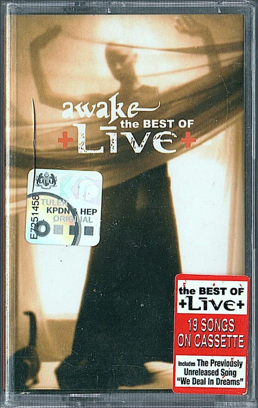 (NOS) LIVE Awake - The Best Of CASSETTE TAPE.jpg