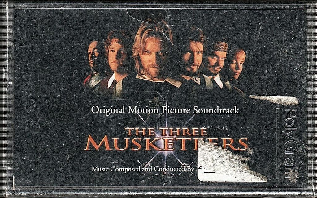 (NOS) MICHAEL KAMEN The Three Musketeers (Original Motion Picture Soundtrack) CASSETTE TAPE.jpg