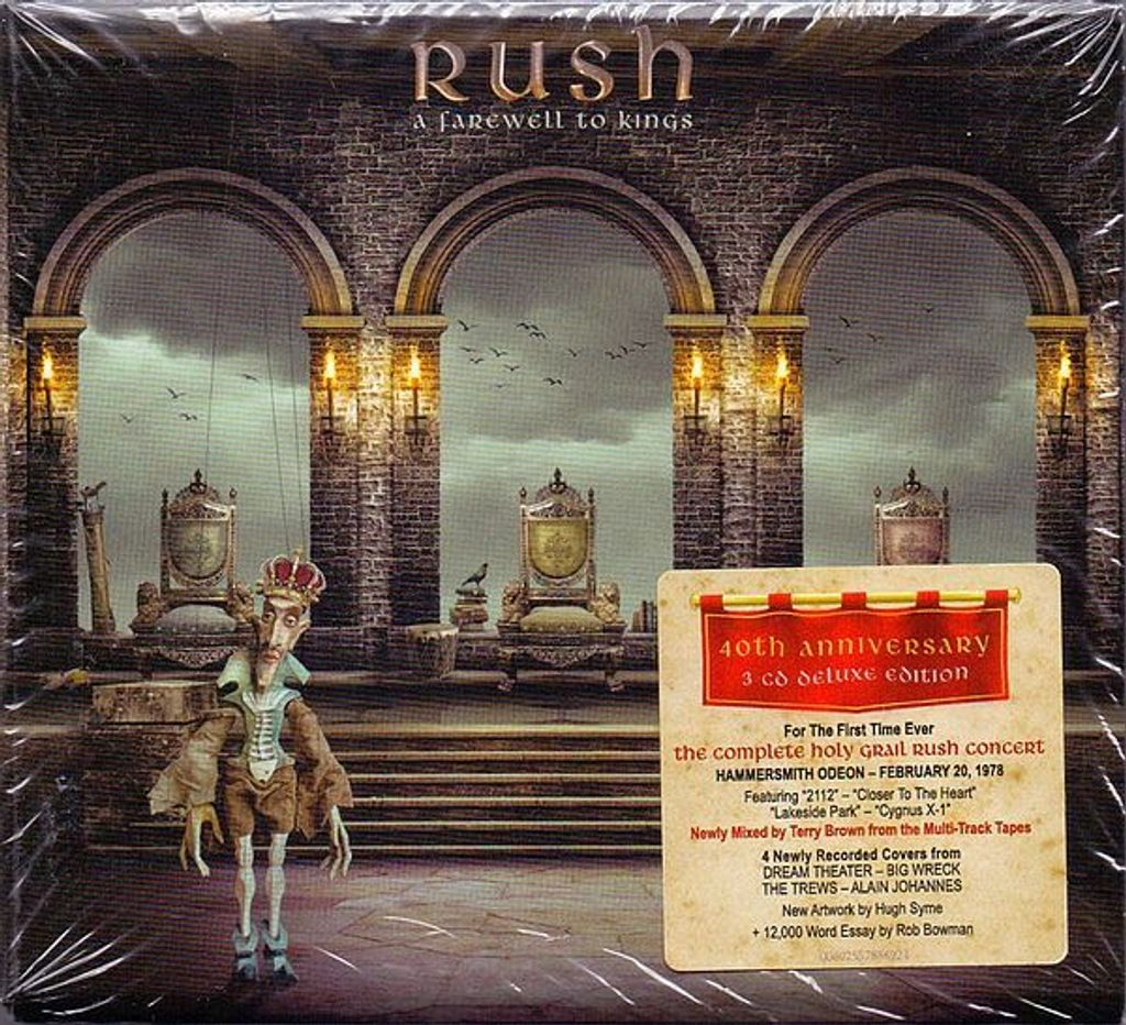 RUSH A Farewell To Kings (40th Anniversary Deluxe Edition) 3CD.jpg