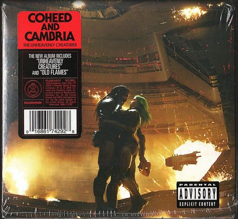 COHEED AND CAMBRIA The Unheavenly Creatures CD.jpg
