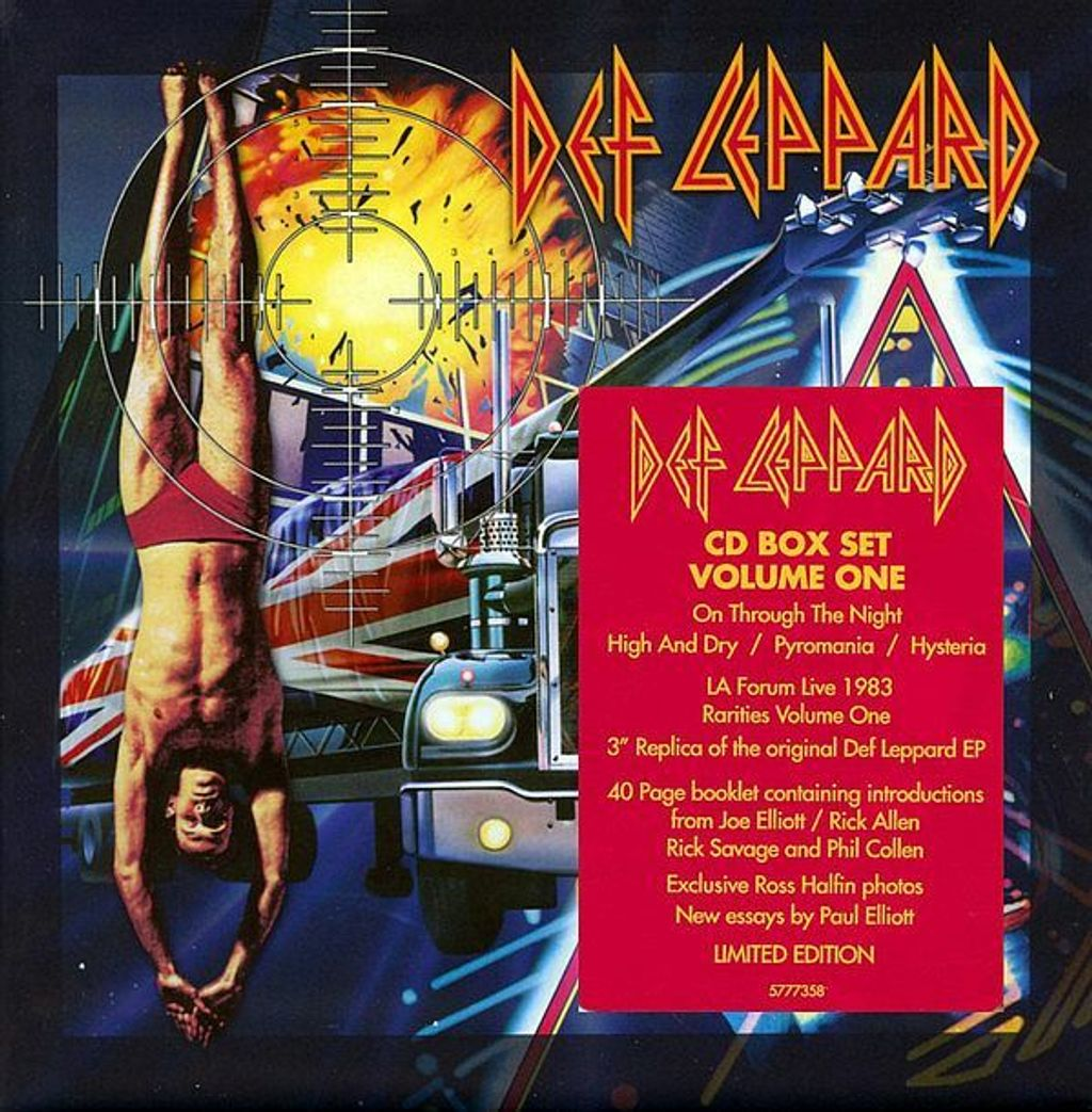 DEF LEPPARD CD Collection Volume 1 (Limited Edition Boxset) 7CD.jpg