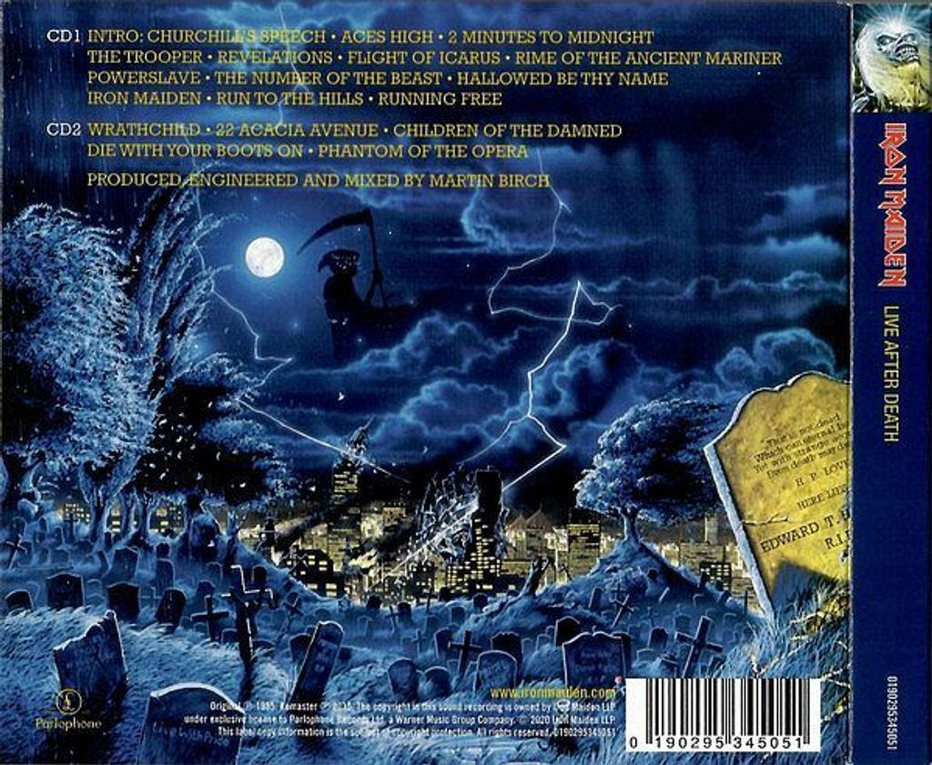 IRON MAIDEN Live After Death (2020 The Live Collection Remastered digipak) 2CD PARLO BACK.jpg