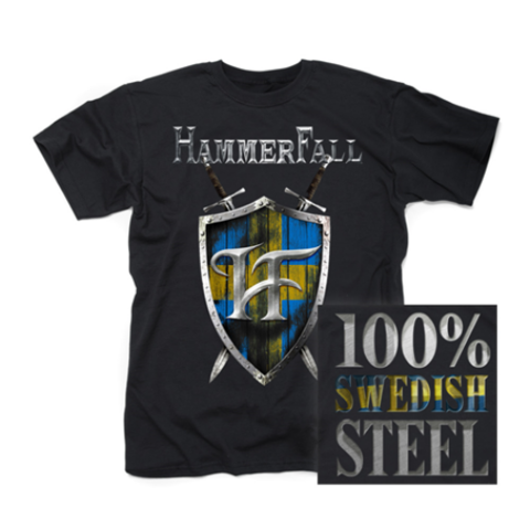 HAMMERFALL Swedish Steel T-Shirt.png