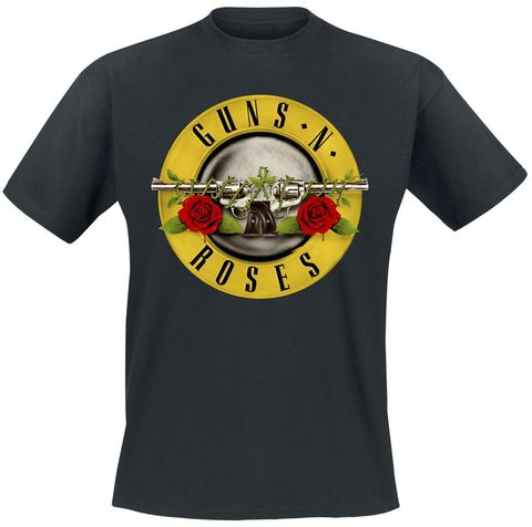GUNS N ROSES Distressed Bullet T-Shirt.jpg