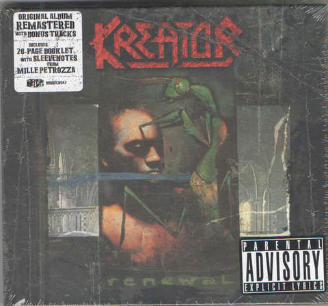 KREATOR Renewal (Reissue, Remastered, Digibook) CD.jpg
