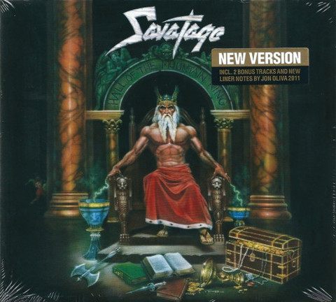 SAVATAGE Hall of the Mountain King (2011 Reissue, Remastered, Digipak) CD.jpg