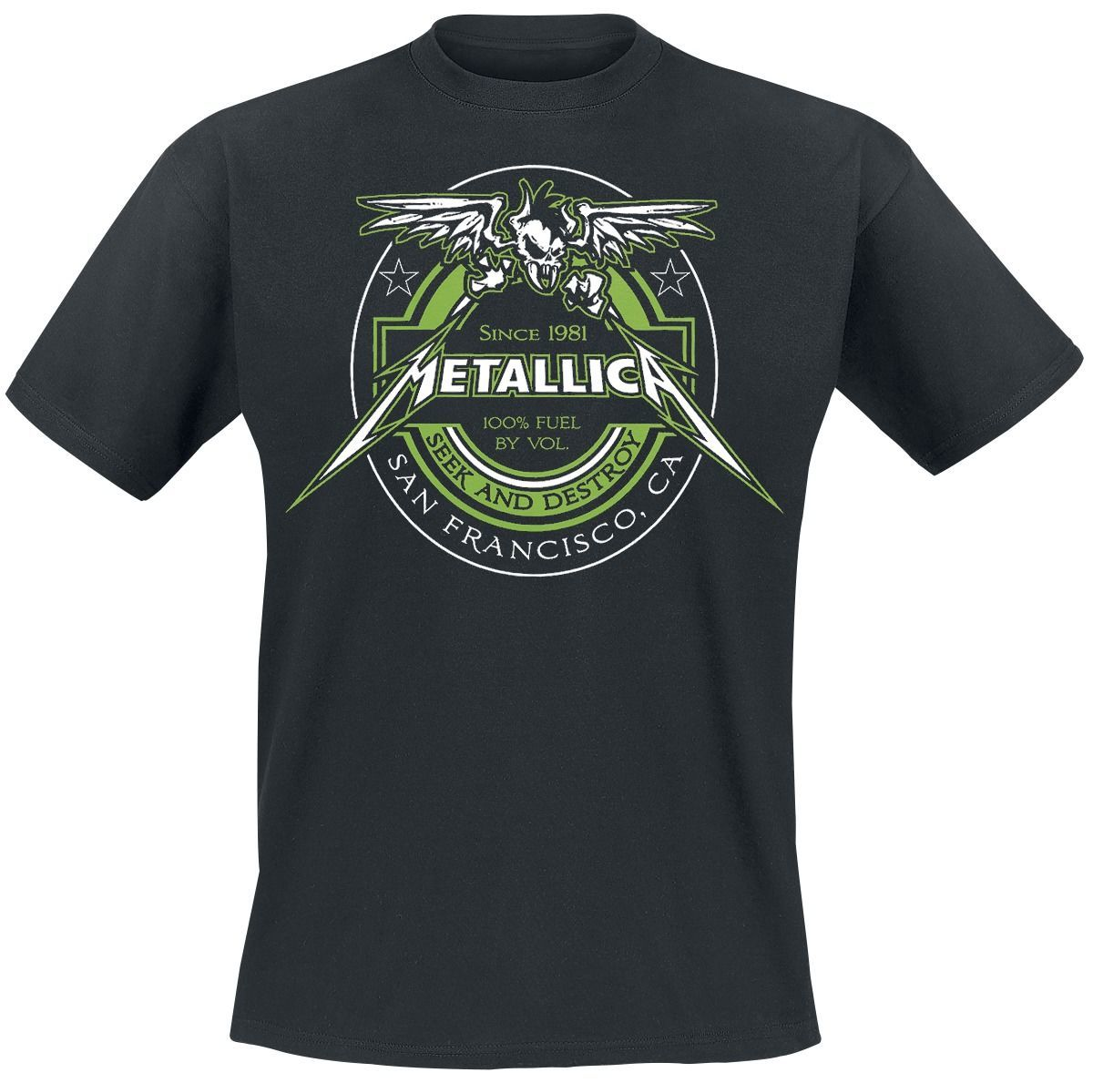 METALLICA 100% Fuel - Seek And Destroy T-Shirt.jpg