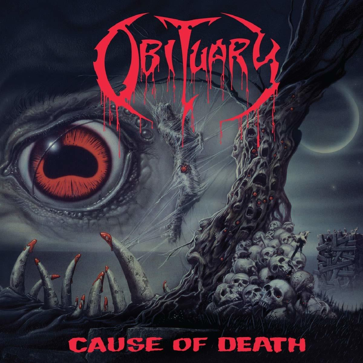 OBITUARY Cause Of Death LP COLOURED (2019 Listenable Records reissue).jpg