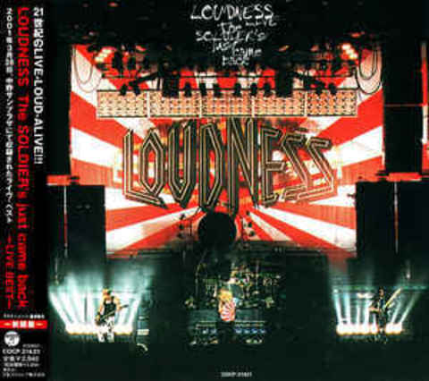 LOUDNESS The Soldier's Just Came Back - Live Best - CD.jpg