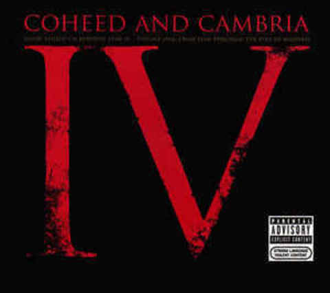 COHEED AND CAMBRIA Good Apollo I'm Burning Star IV Volume One From Fear Through The Eyes Of Madness CD.jpg