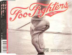 FOO FIGHTERS The One (Single) CD.jpg