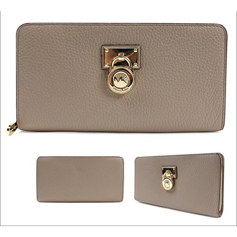 b6d3c74f062b6f ... Kors Hamilton Traveler Large Zip Around Leather Wallet Taupe / Grey  (CLEARANCE). CLEARANCE IMG_6598.jpg. IMG_6598.jpg · IMG_6599.jpg ...