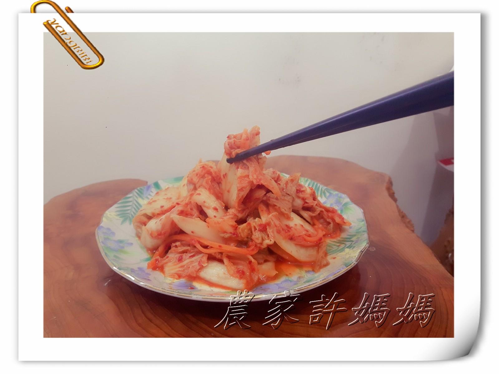 這就是饅頭夾的農家許媽媽韓式極品手工泡菜