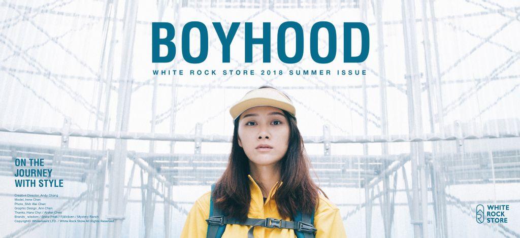 "White Rock Store 2018 Summer Issue ""Boyhood"""