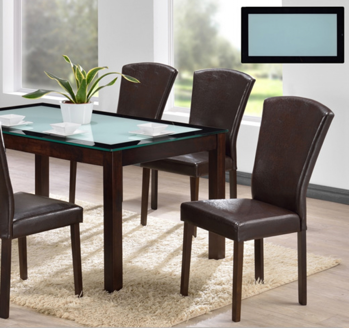 DC P2 GTA 7pc Dining Set RYM Furniture