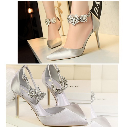 SHH52010-IDR.240.000-MATERIAL-PU-HEEL-9.5CM-COLOR-SILVER-SIZE-3536373839