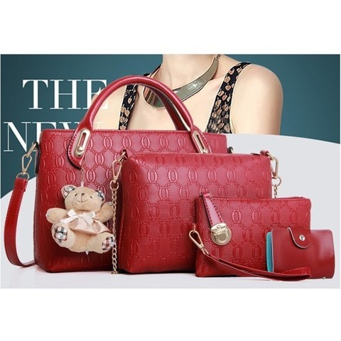 BTH077-(4IN1) IDR.84.000 MATERIAL PU SIZE BIG L32XH23CM, MEDIUM L28XH18CM WEIGHT 950GR COLOR RED.jpg