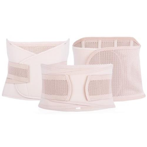 3PCS MATERNITY POSTNATAL BELT BELLY BAND SLIMMING SHAPERS UNDERWEAR FOR WOMEN (NET PATTERN SKIN COLOR)