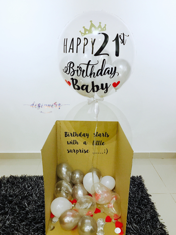 24 LED SURPRISE BALLOON BOX