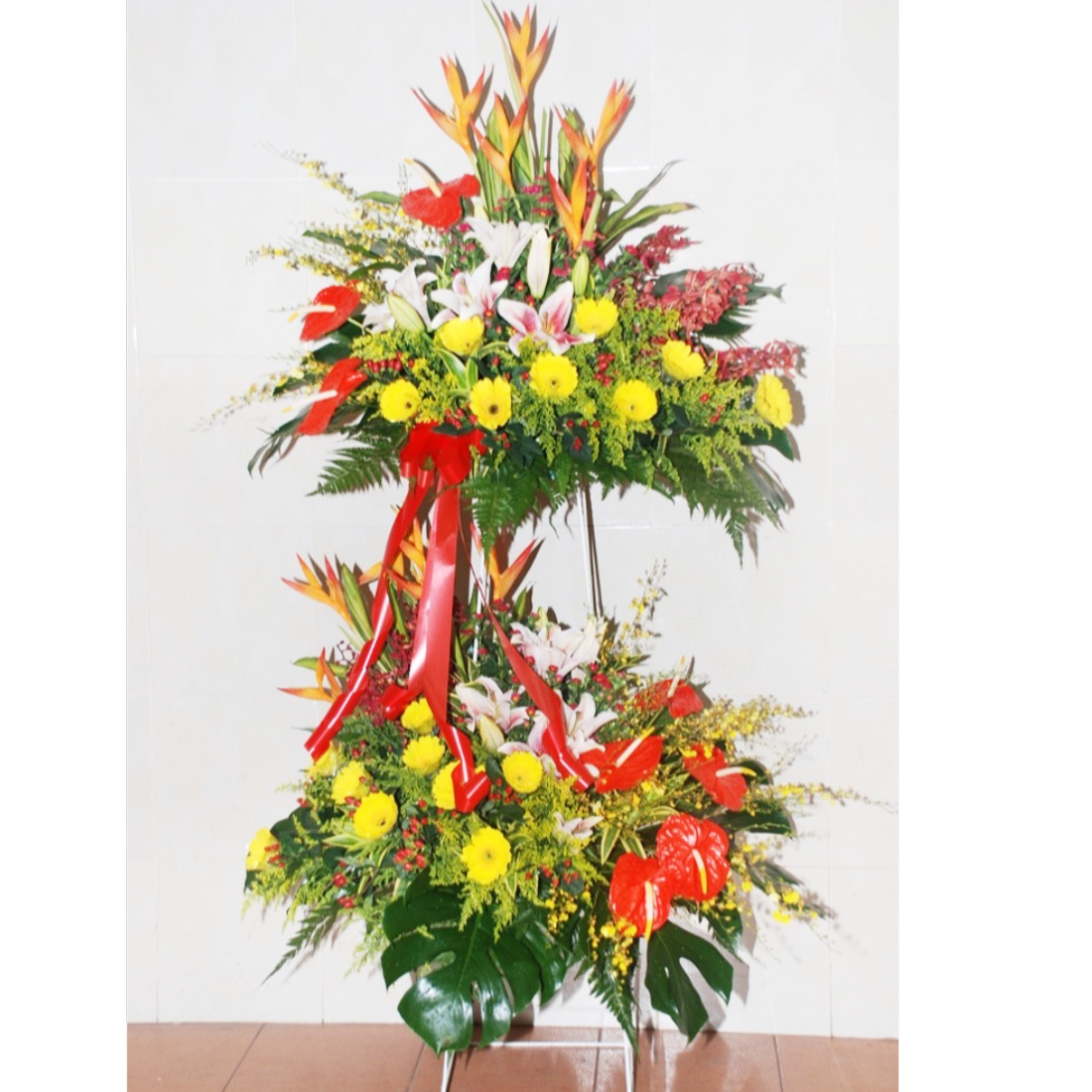 2 tier opening stand 05 pastel flower gifts flower bouquet 2 tier opening stand 05 izmirmasajfo