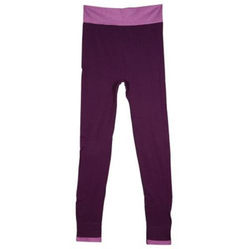YOGA EXERCISE SPORTS PANTS LINER TIGHTS RUNNING LEGGINGS FOR WOMEN (PURPLE)