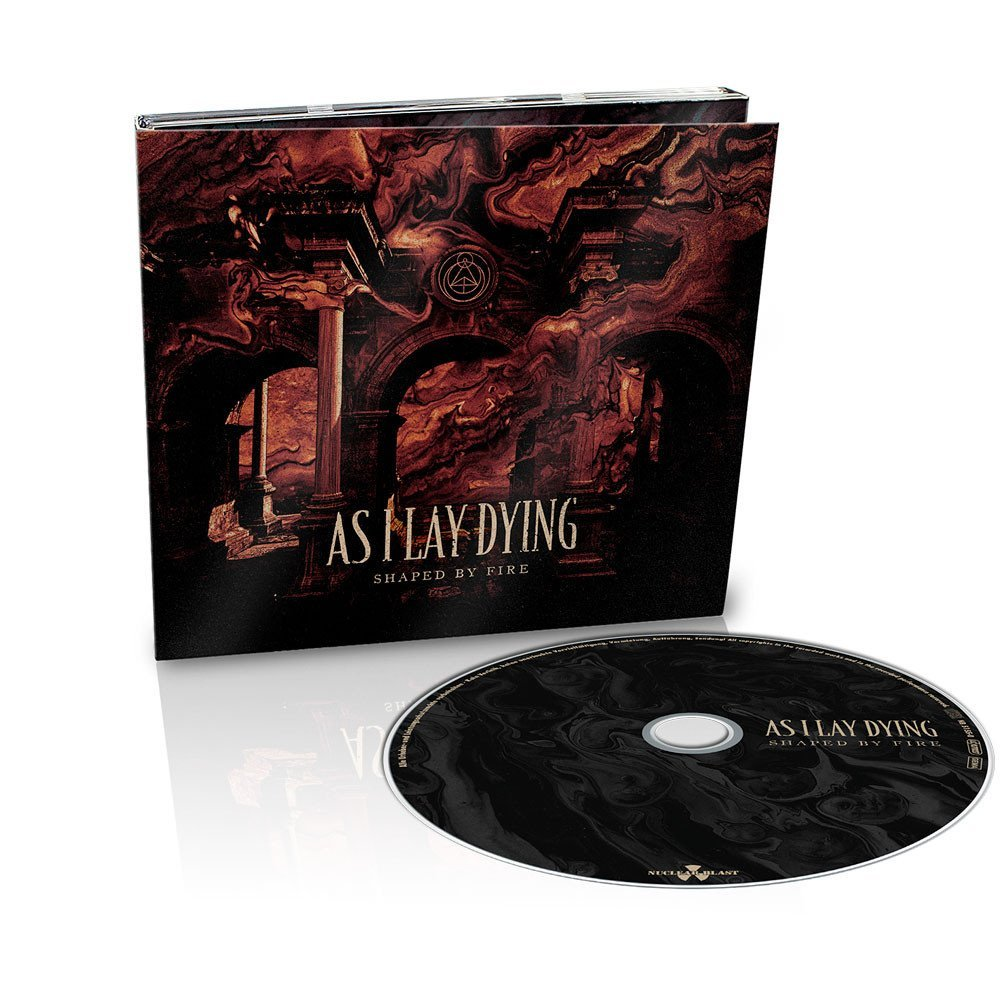 AS I LAY DYING-Shaped by fire CD DIGI