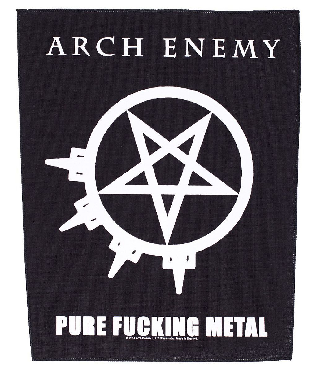 Arch enemy-pure fucking metal Backpatch.jpeg