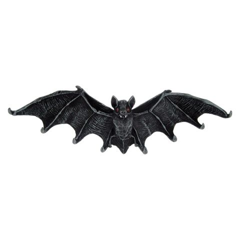 Bat Key Hanger (26cm) 2 Sawtooth hooks for hanging.jpg