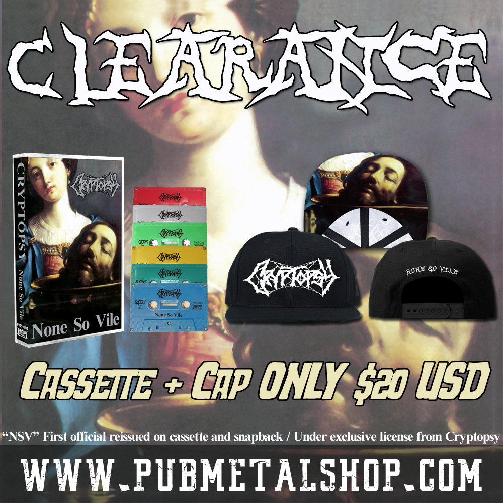 Cryptopsy-None so vile Tape+Cap (Clearance)