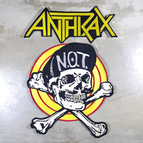 Anthrax-not skull backpatch set.jpg