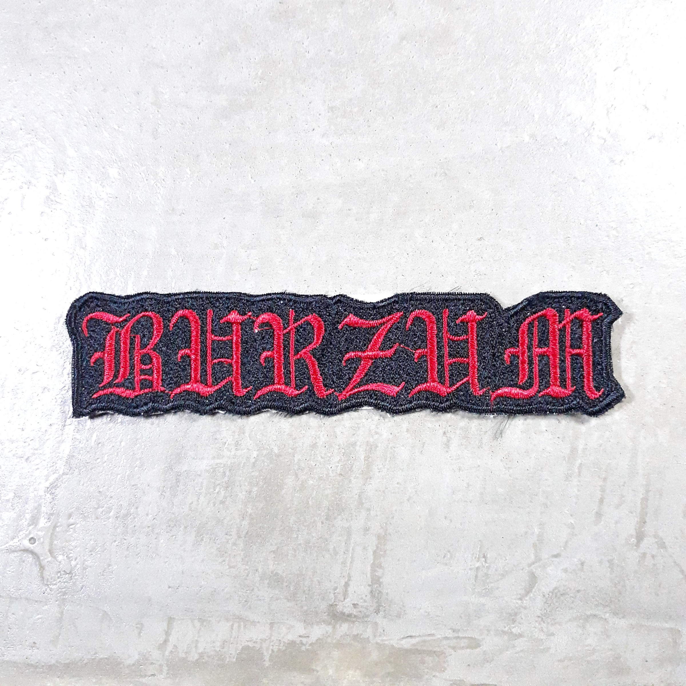 Burzum red logo patch.jpg