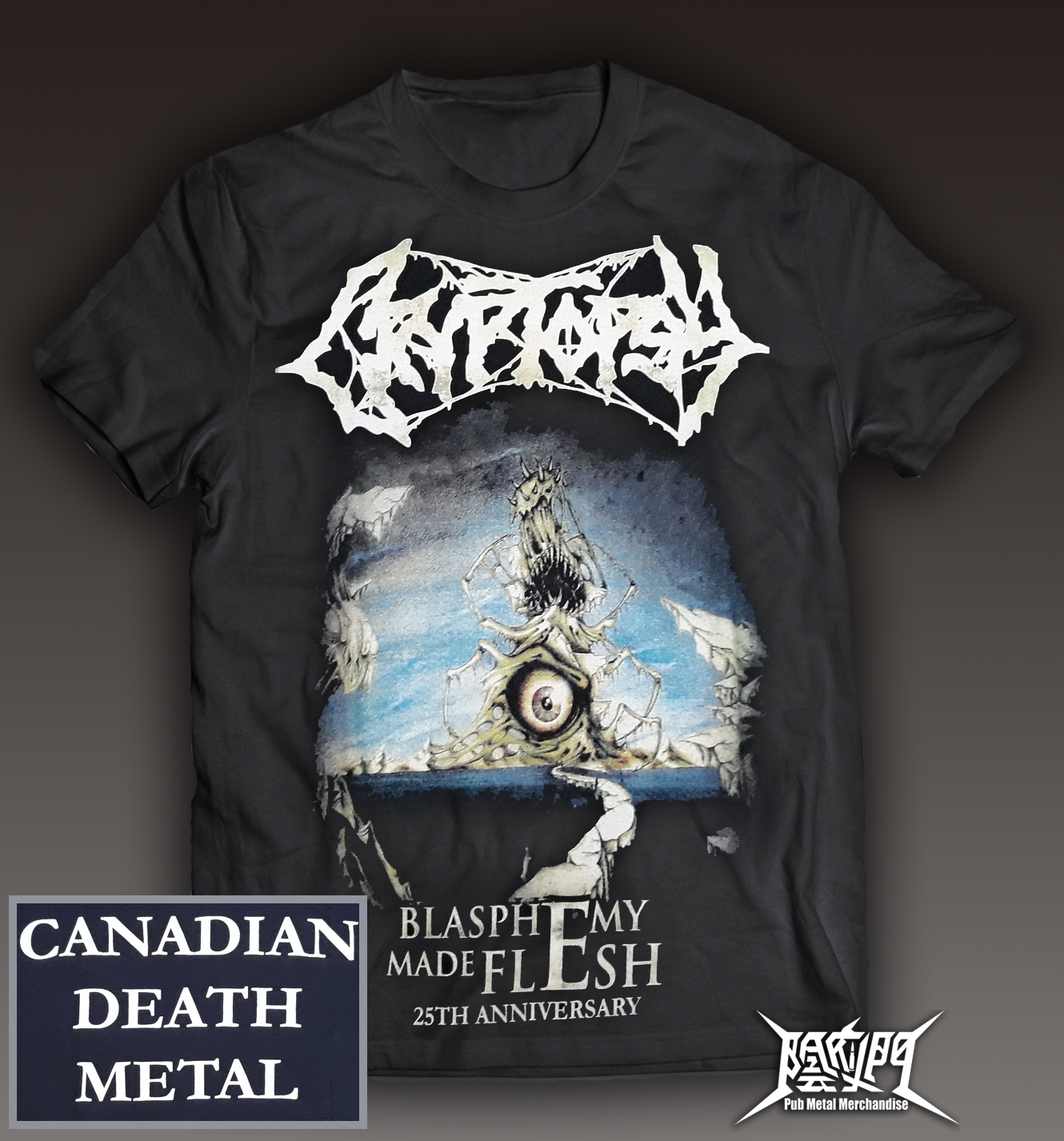 Cryptopsy- Blasphemy Made Flesh Tee